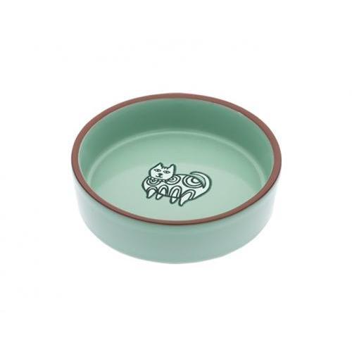 Food Bowl - Henna Cat In Jade
