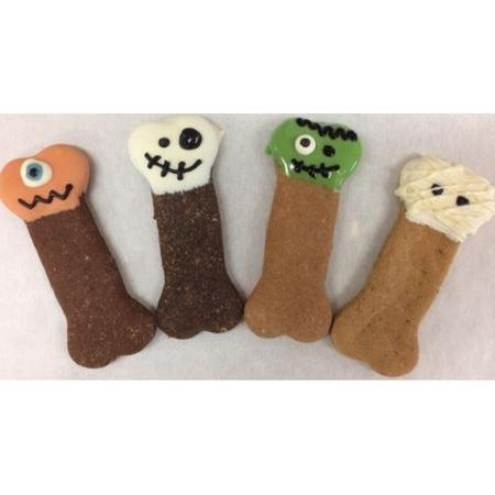 Dog Treat - Large Halloween Bones Assorted