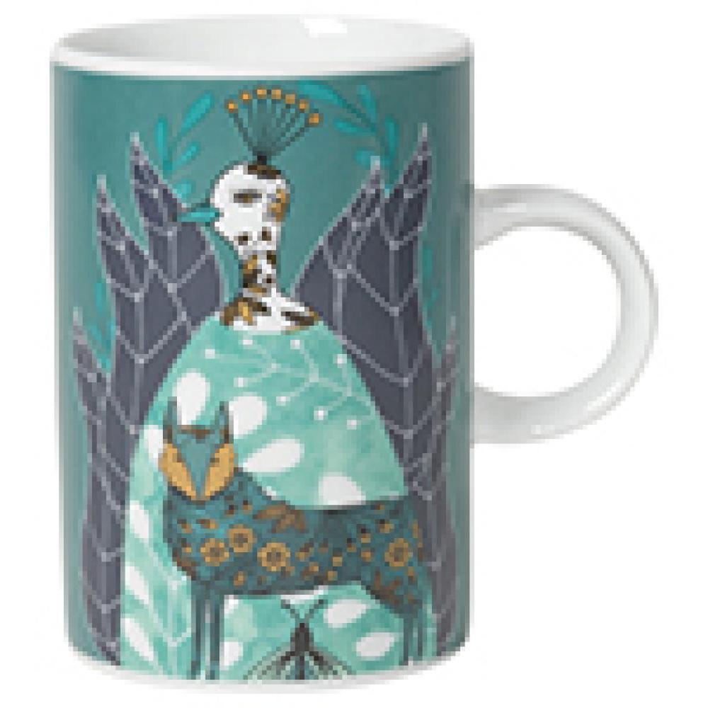 Mug (danica) Graphic-birdland Metallic Gold