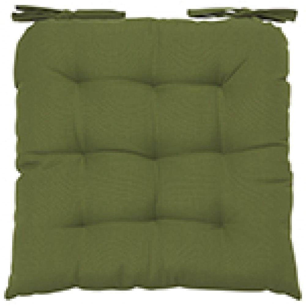 Renew Chair Pad Solid Fir Green