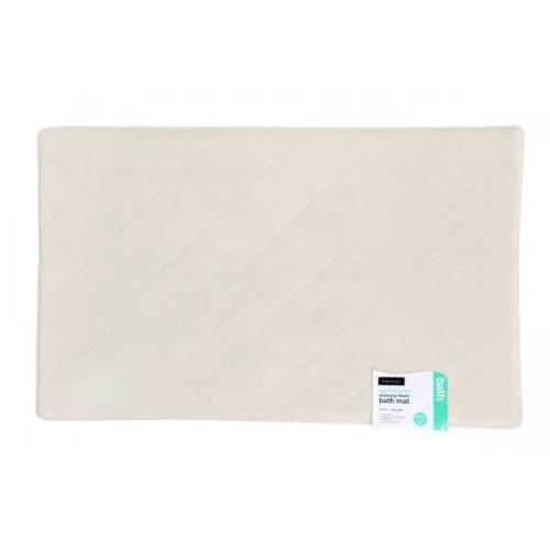 Bath Mat - Memory Foam - Natural