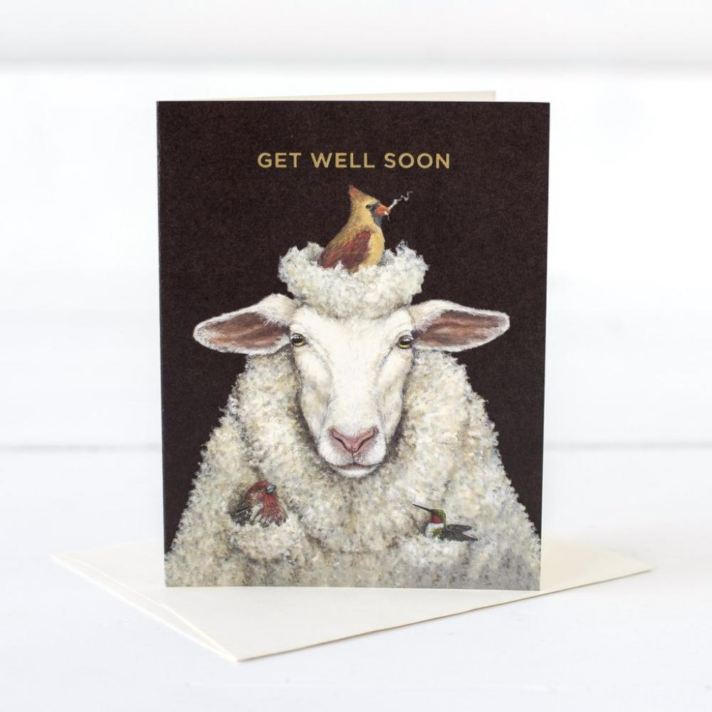 Get Well - Sheep