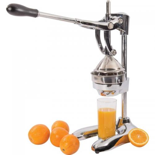 Fruit Citrus Juicer Heavy Duty Chrome Plated 10.25x19.50x7.25in
