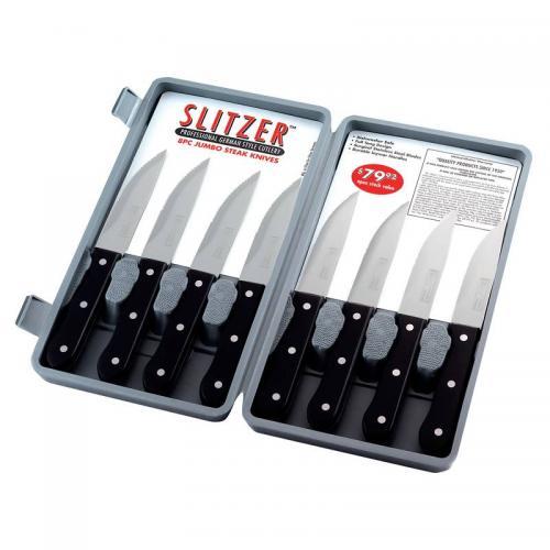 Steak Knife 8 Piece Set Full Tang Gift Box