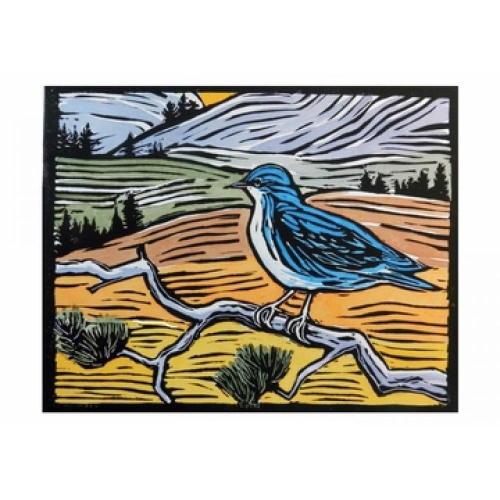 Boxed Card - Small Notecard - Molly Hashimoto Mountain Bluebird