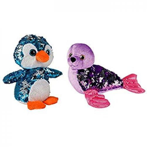 Sequinimals Stuffed Animals Penguin
