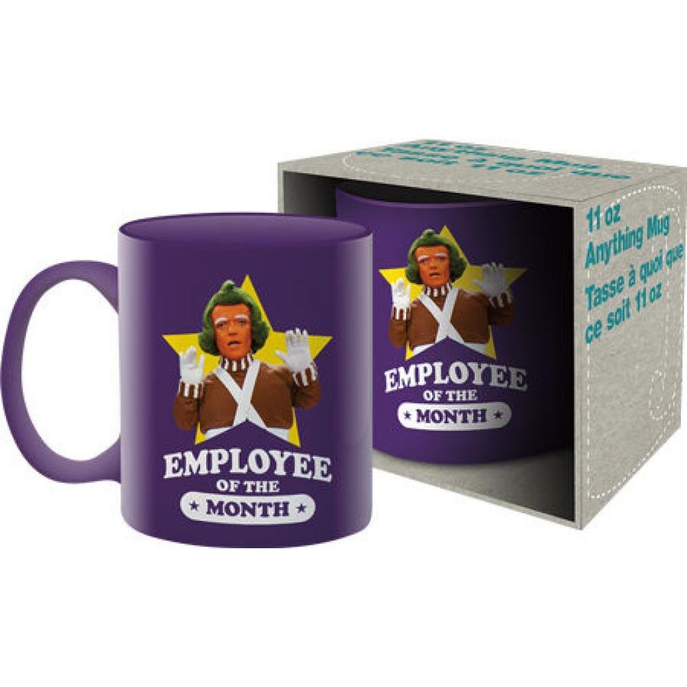 11oz Boxed Mug Willy Wonka Employee Of The Month