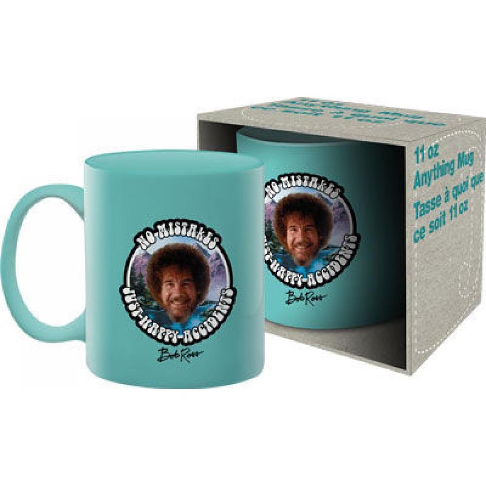 11oz Boxed Mug Bob Ross No Mistakes