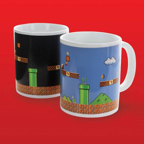 Mug - Super Mario Bros Heat Change