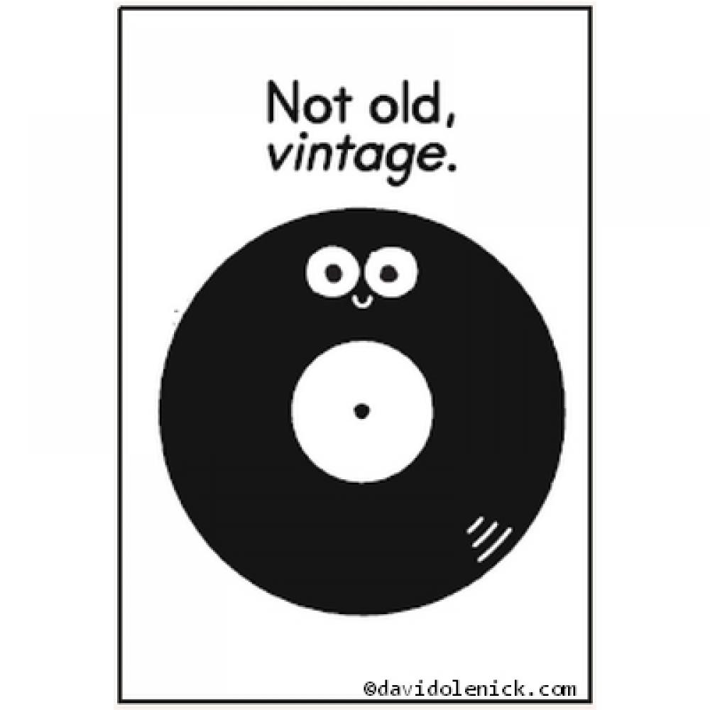 Magnet - Not Old Vintage