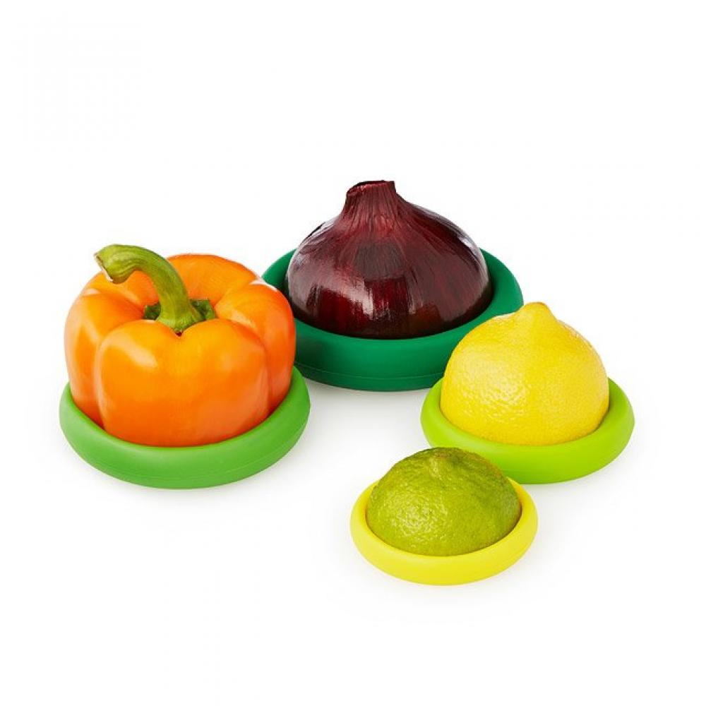 FARBERWARE Food Huggers Set of 4 Assorted Colors