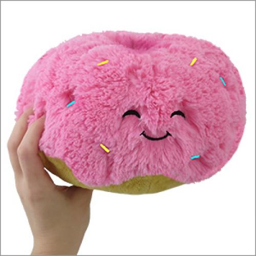 Squishables Pink Donut 7in