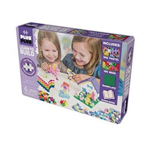 Plus-plus Kit 400pc Learn To Build Pastel