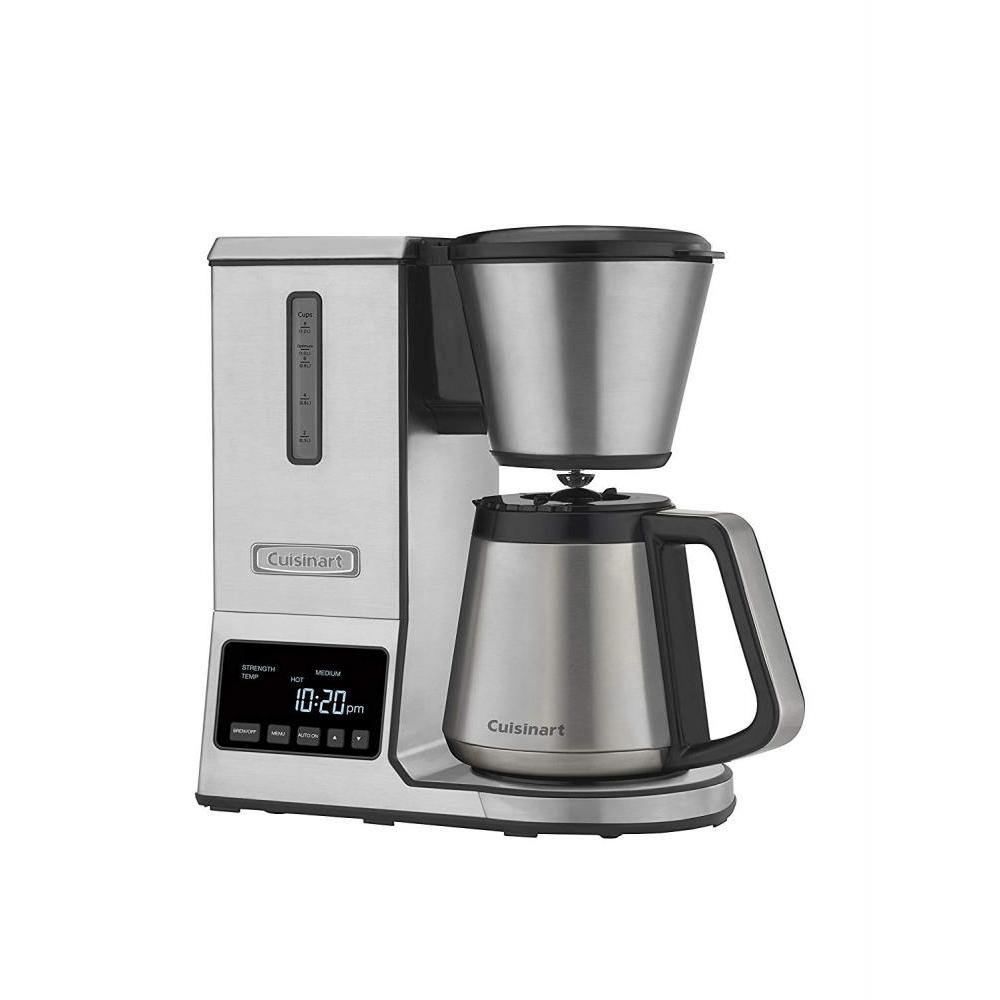 Electric Pour- Over Coffee Brewer Ws/s Carafe 8 Cup