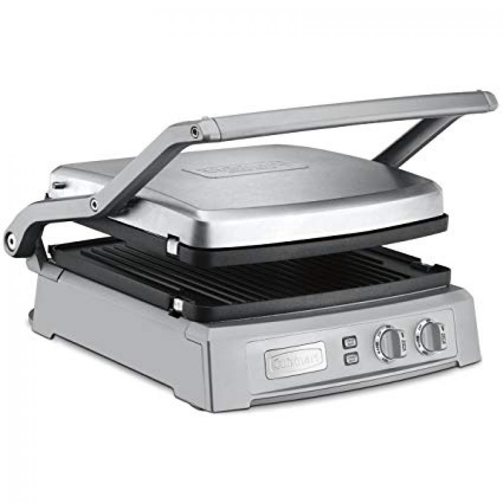 Electric Griddler Deluxe Removable Reversable Grill And Griddle Plates