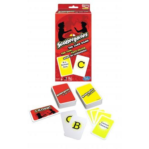 Scattergories The Card Games