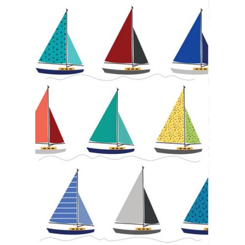Birthday - Sailboats