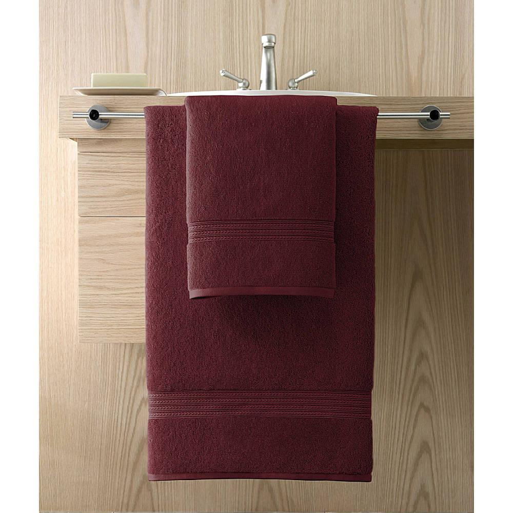 Kassadesign Garnet Red Hand Towel 16x30