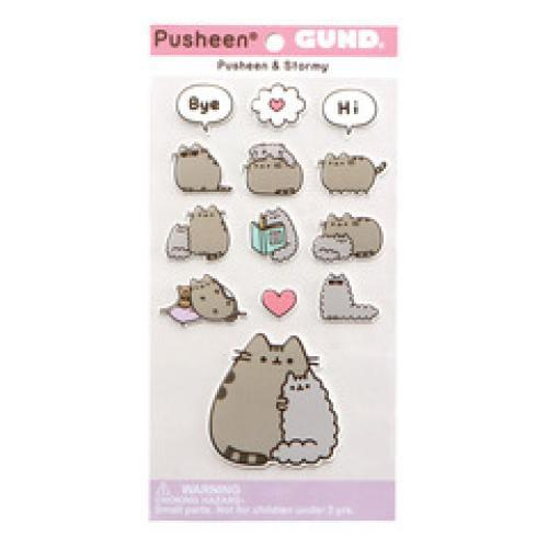 Pusheen Sticker Stormy