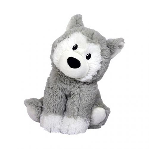 Warmies Heatable Stuffed Animal Husky 13in