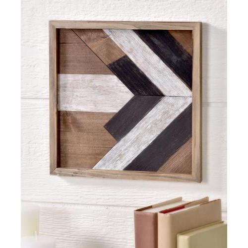 Framed Pine Mdf Print Arrow  Pointing Right 12x12