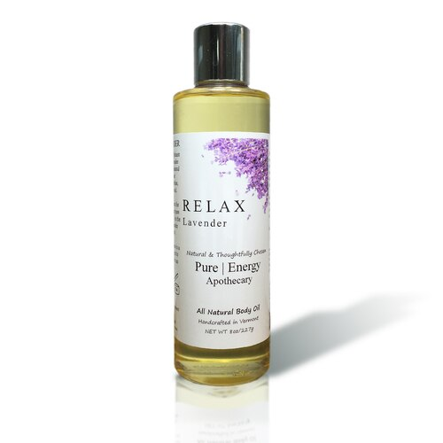 Body Oil 8oz - Lavender