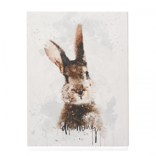Canvas Print Rabbit 12in X 16in