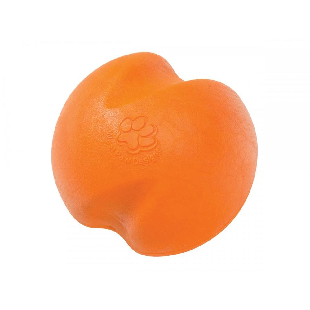 Pet Dog Toy Jive Small Tangerine