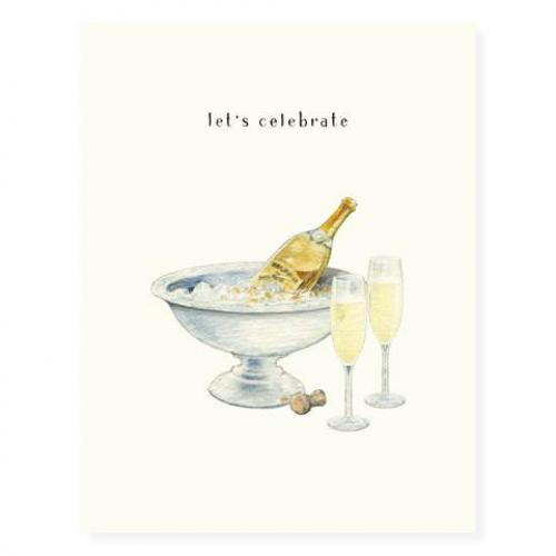 Congratulations - Champagne And Flutes