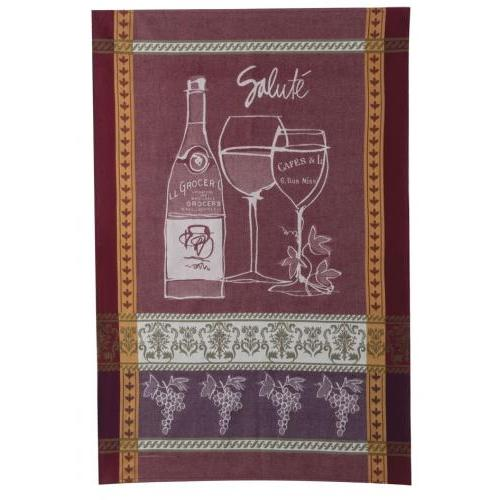 Tea Towel Not Jacquard Wine