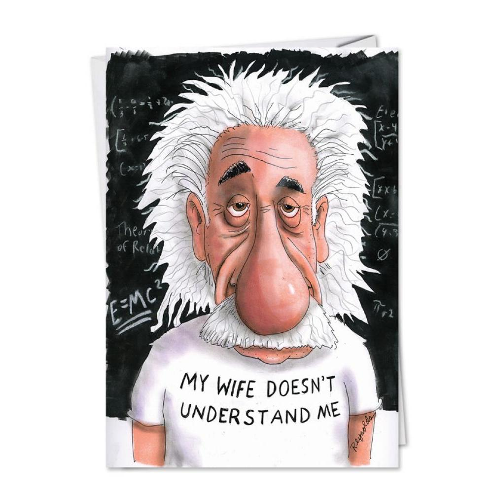 Fathers Day - Einstein