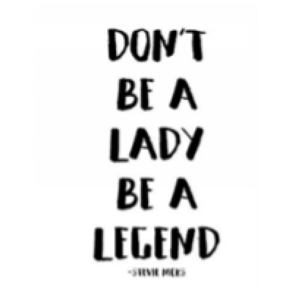 Birthday - Dont Be A Lady