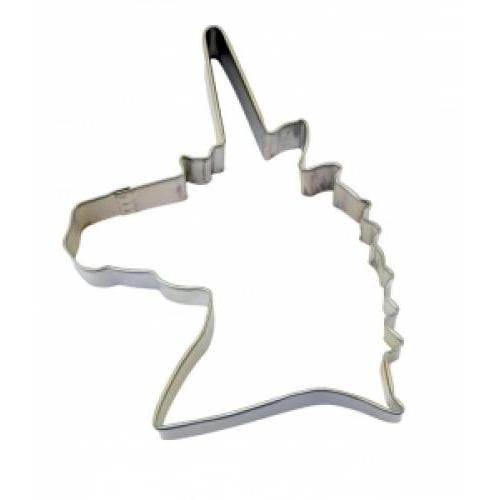 Cookie Cutter Animal Head Unicorn 4.75inch