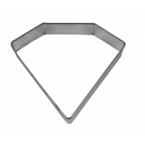Cookie Cutter Shape Diamond Gemstone 4inch