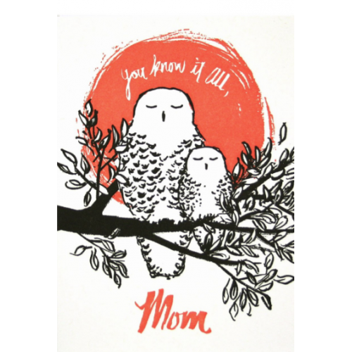 Mothers Day - Owl