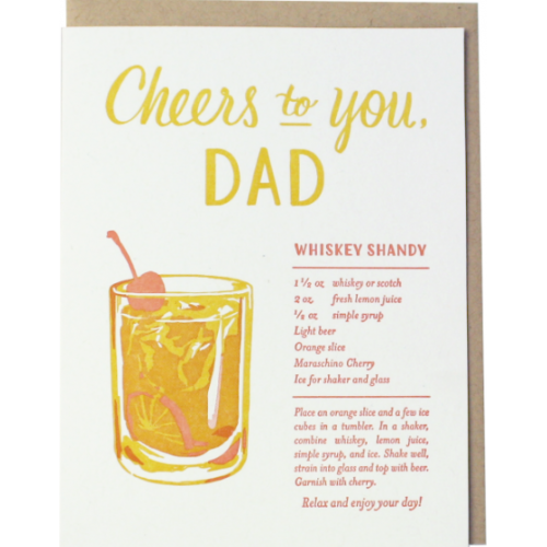 Fathers Day - Whiskey Shandy