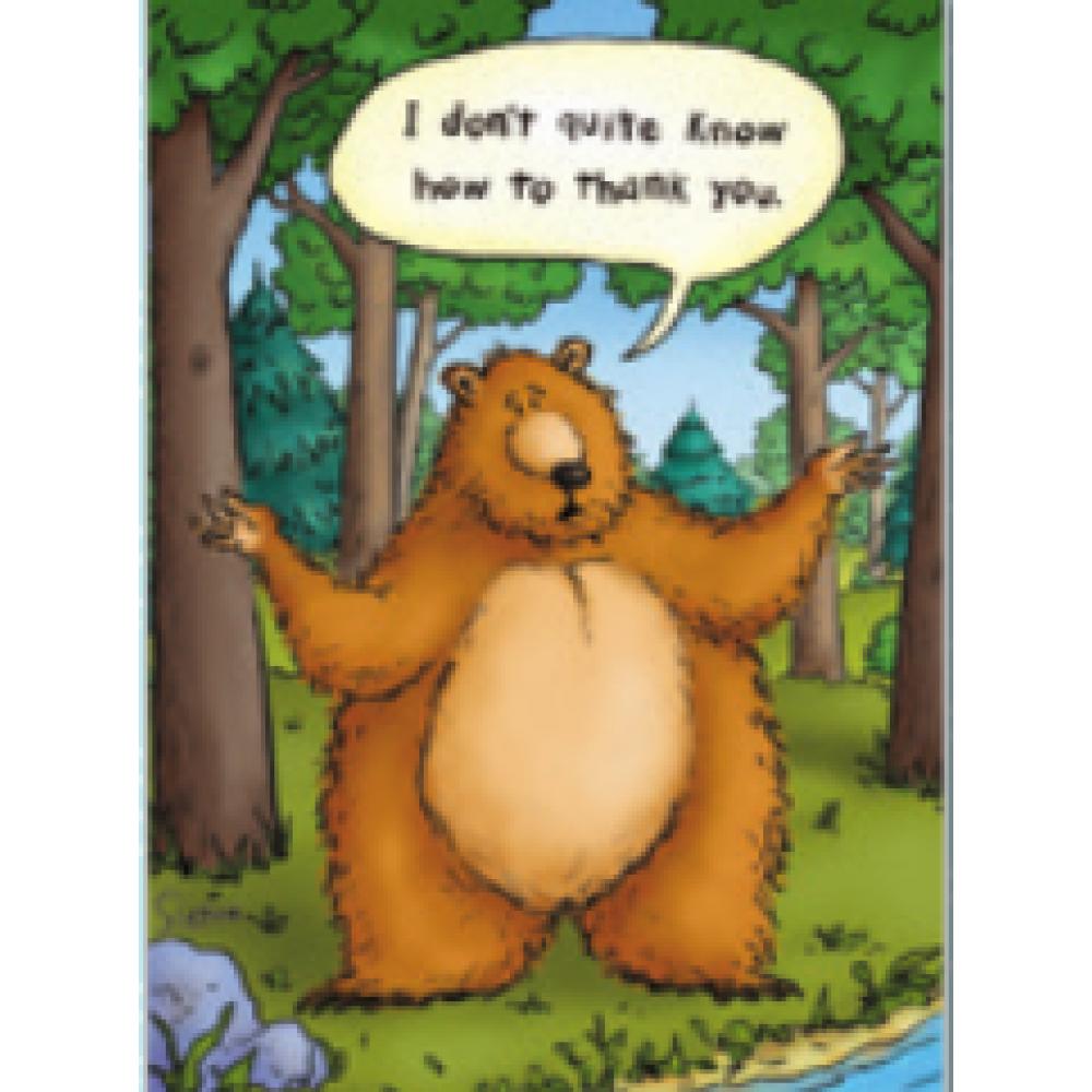 Thank You - Bear Hug