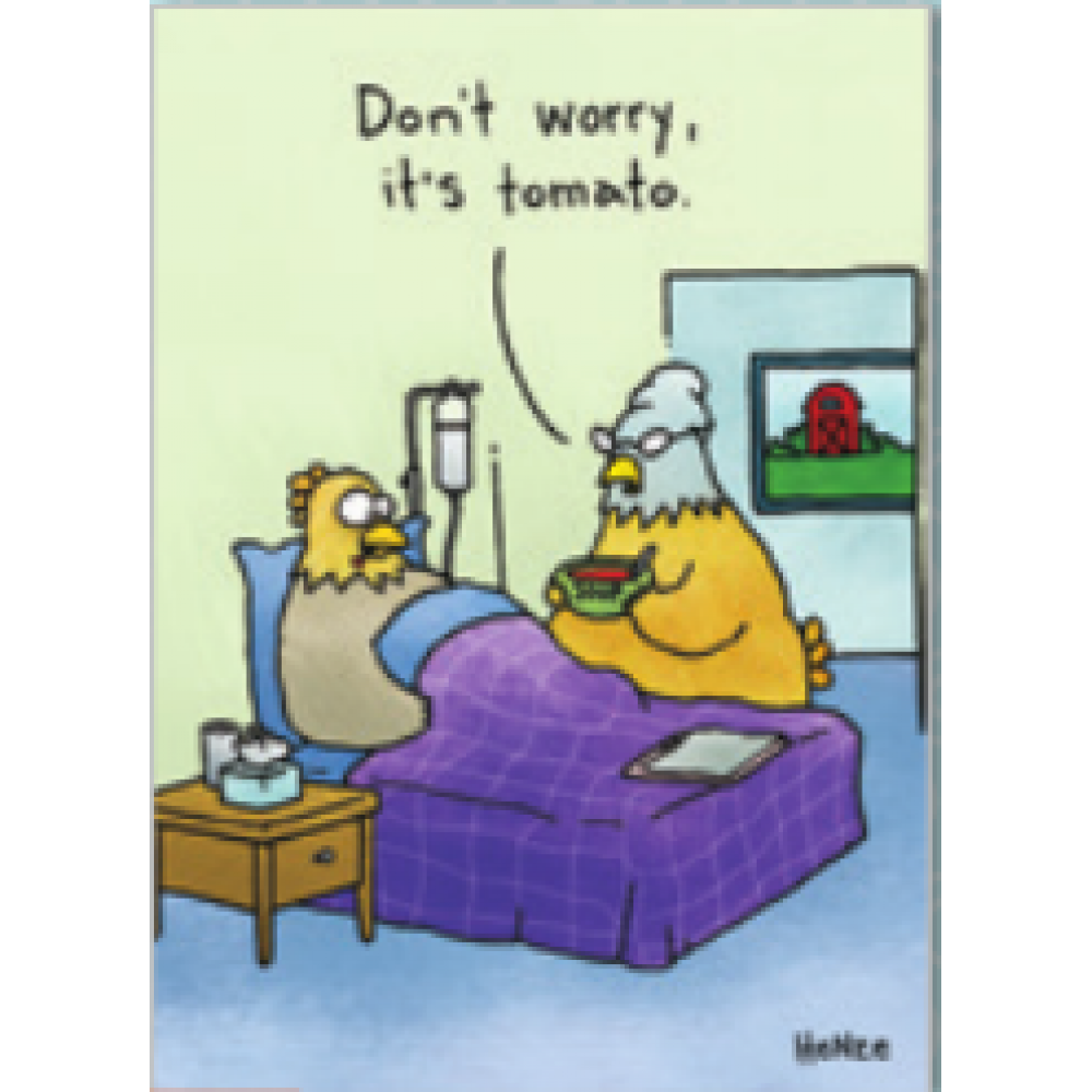 Get Well - Tomato Soup