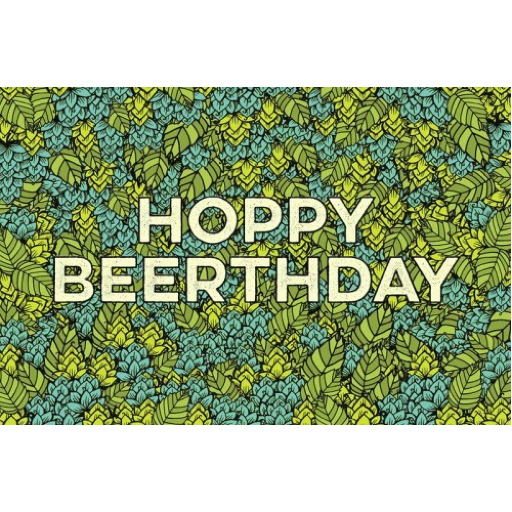 Birthday - Hoppy Beerthday