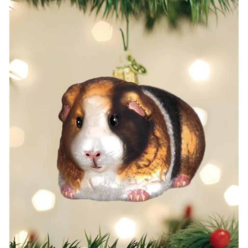 Christmas Ornament Guinea Pig