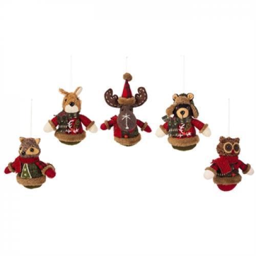 Seasonal Holiday Ornament - Woodland Icon