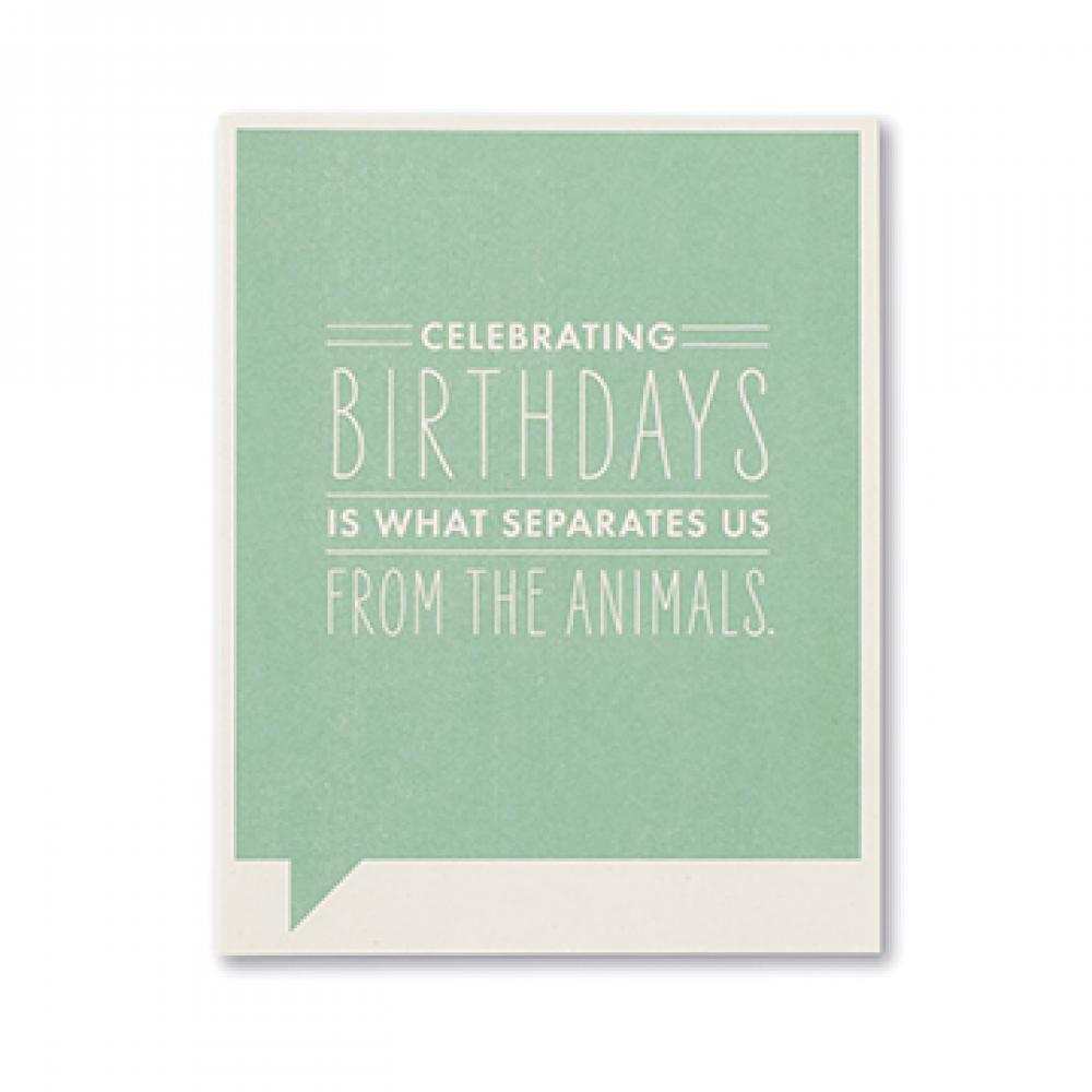 Birthday - Seperates Us From The Animals