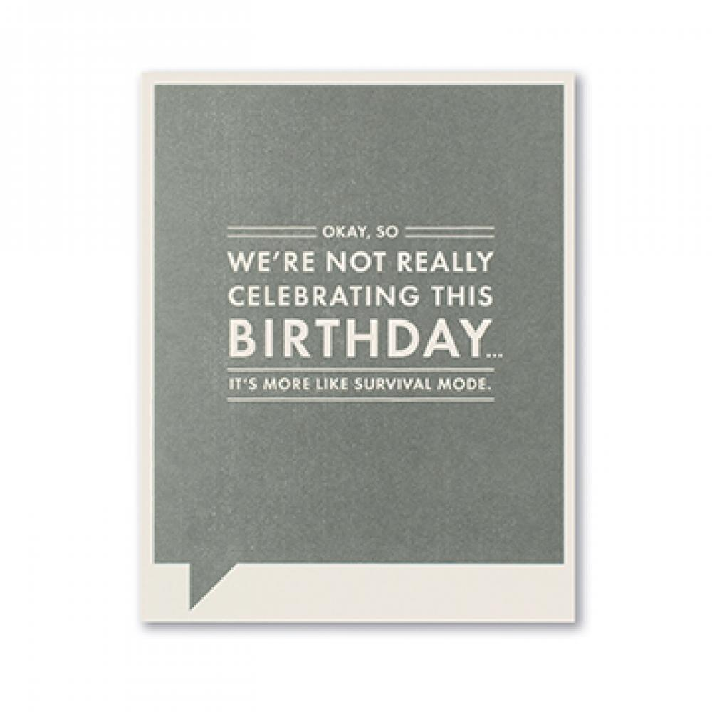 Birthday - Survival Mode