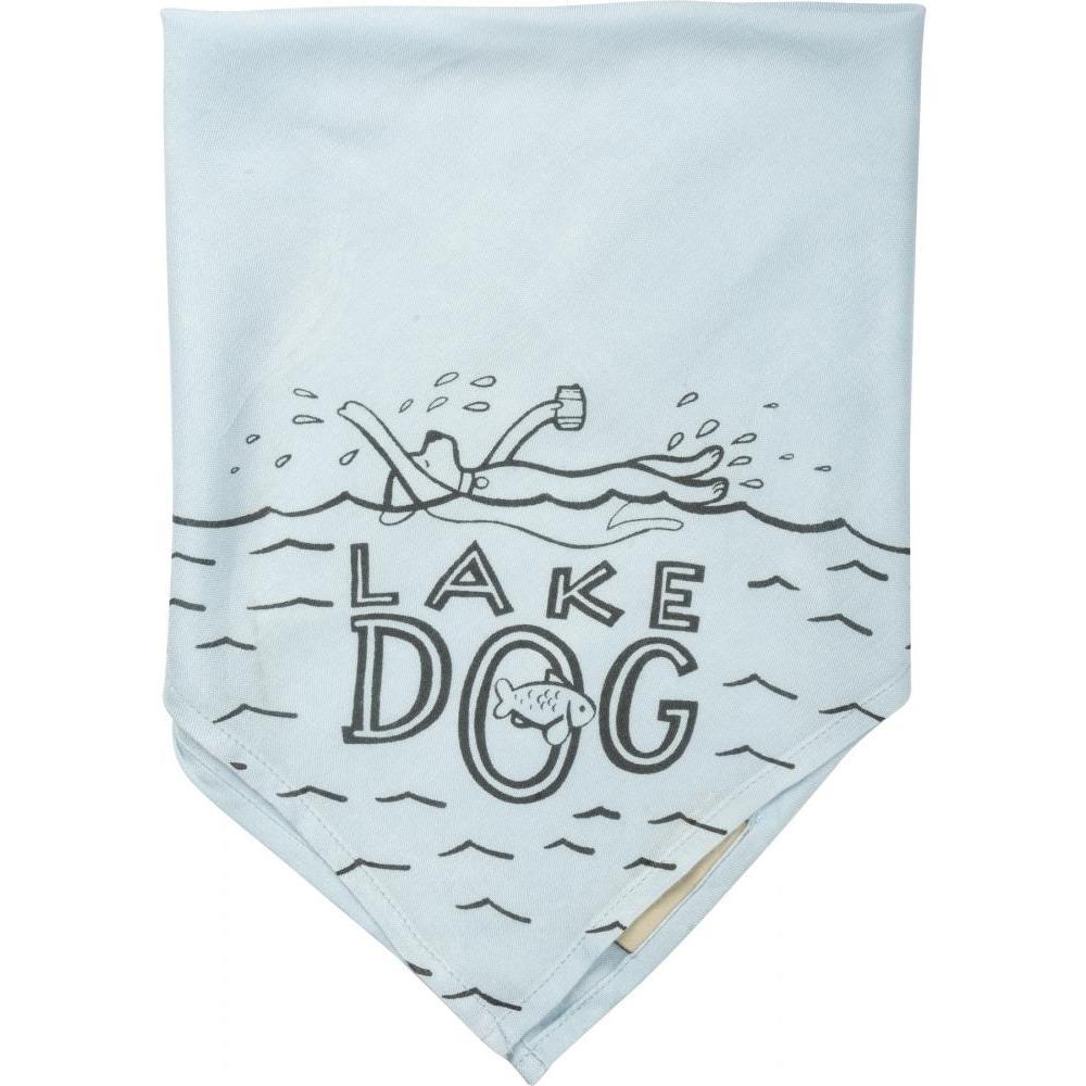 Pet Bandana Small 16x16inch Lake Dog
