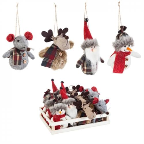 Seasonal Holiday Ornament - Winter Friends
