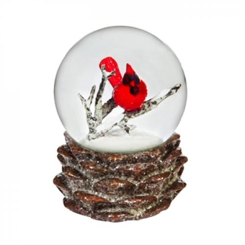 Seasonal Holiday - Water Globe - Christmas Cardinal