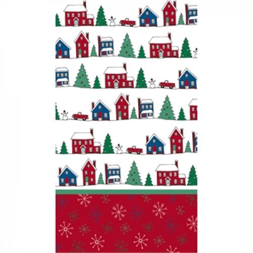 Holiday Paper Guest Towel 15 Count - Memory Lane