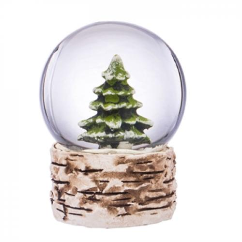 Seasonal Holiday - Water Globe - Pine Tree