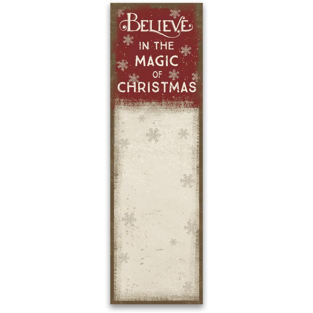 Christmas - List Notepad In The Magic