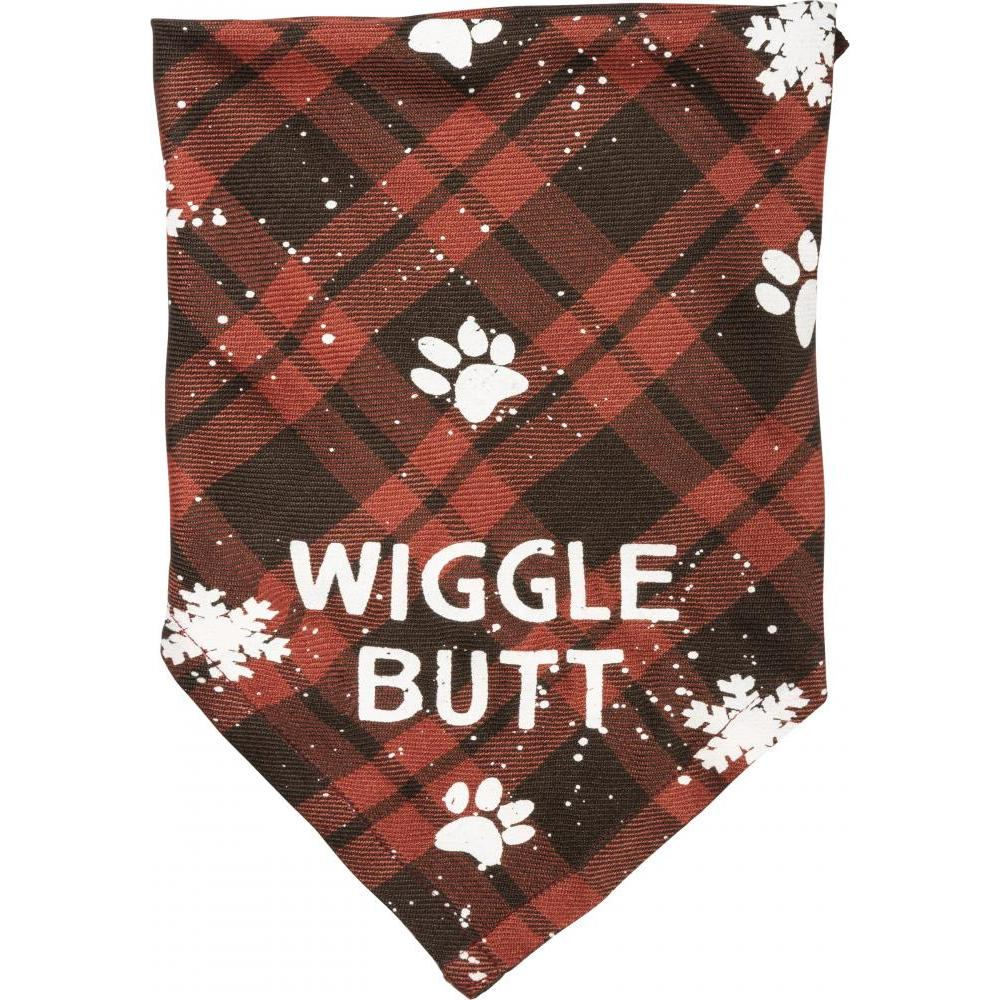 Christmas - Pet Bandana Small 16x16inch Wigglebutt